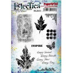 Eclectica³ Rubber Stamp Sheet By Lin Brown - ELB32